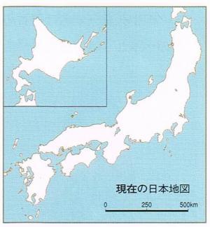 現代日本地図