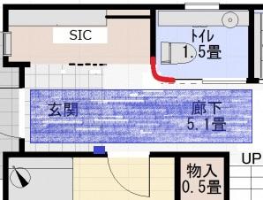 玄関センサー説明2
