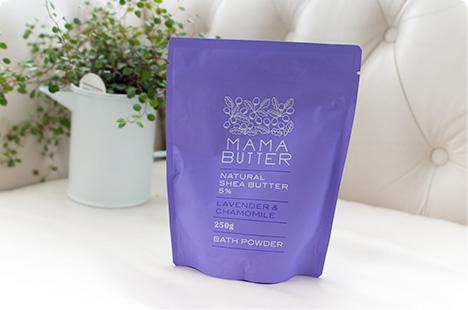MAMA BUTTER(ママバター) バスパウダー ラベンダー&カモミール