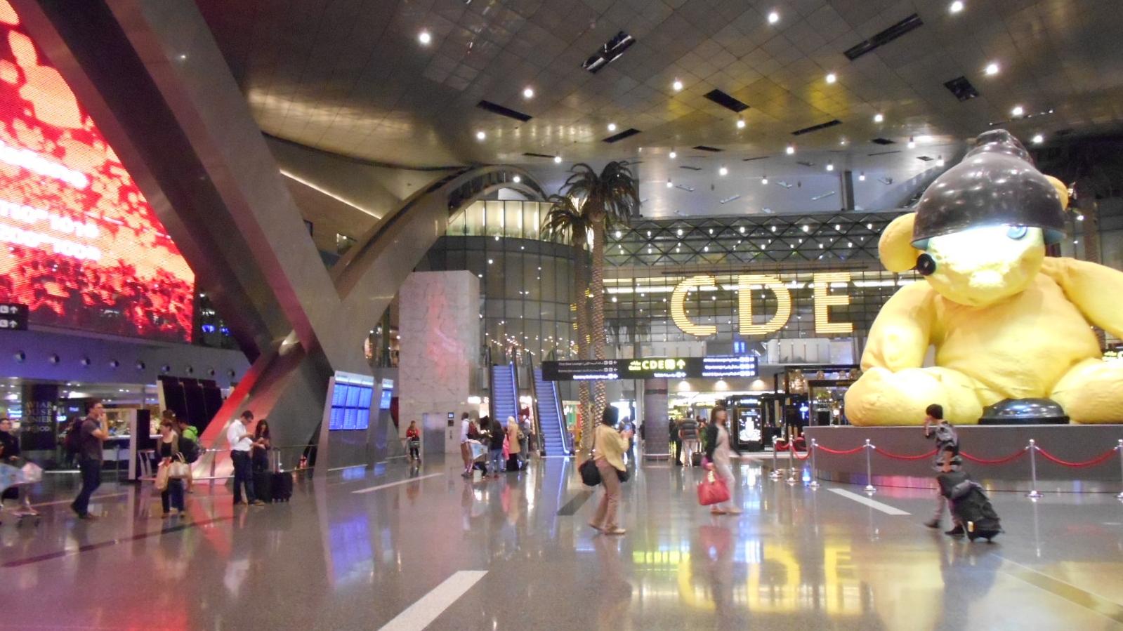 ドーハ―空港