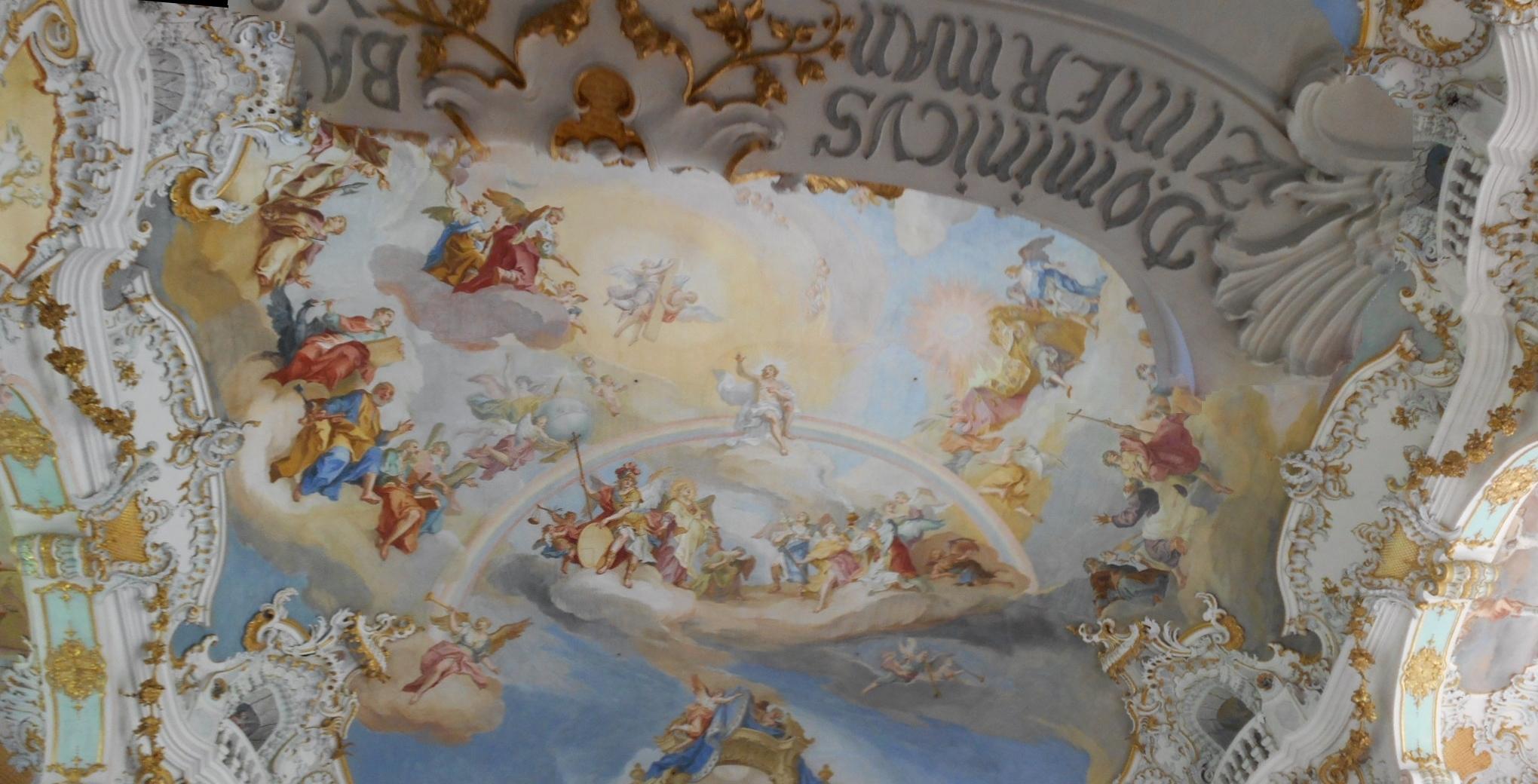 教会天井(パノラマ)