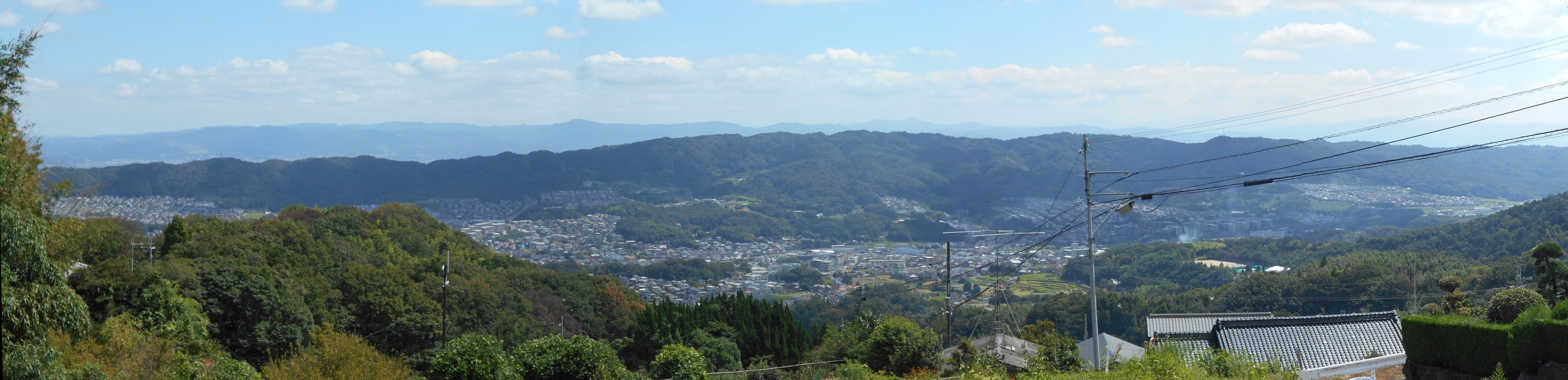 奈良方面「パノラマ」