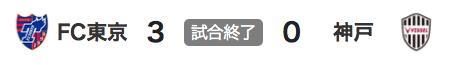 912東京3-0神戸