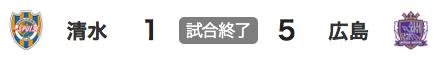 926清水1-5広島