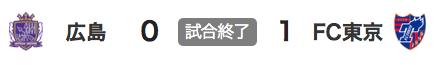 103広島0-1東京