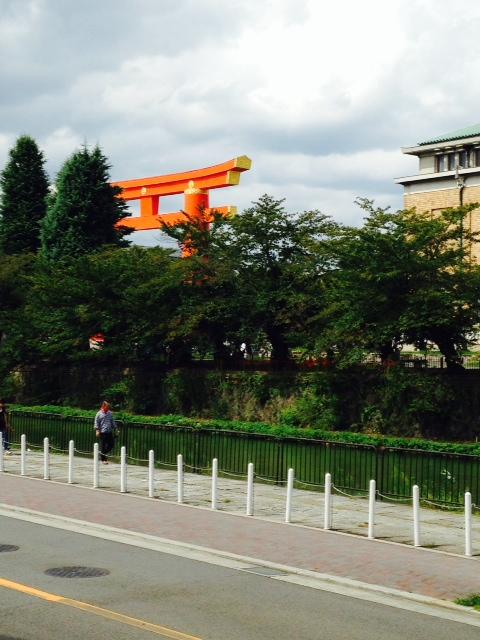 平安神宮鳥居