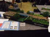 千葉県立千葉工業高等学校 鉄道研究部 鉄道模型コンテスト2015