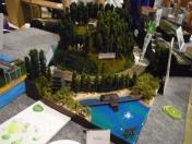 青稜中学高等学校 鉄道自動車部 鉄道模型コンテスト2015
