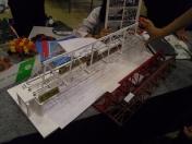 東京都立大崎高等学校 ペーパージオラマ部 鉄道模型コンテスト2015
