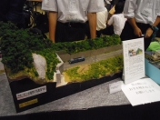 神奈川県立相模原中等教育学校 鉄道研究会(準備会) 鉄道模型コンテスト2015