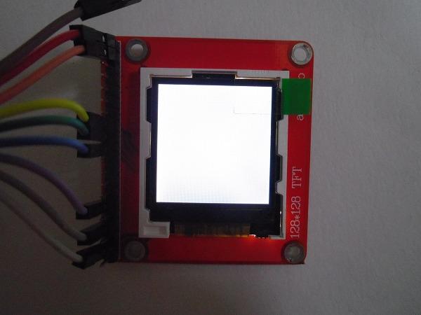 arduino LED 秋月 カラー液晶