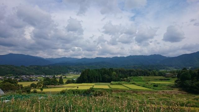 岩村田園風景
