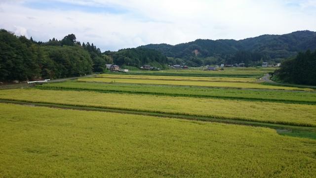 山岡田園風景