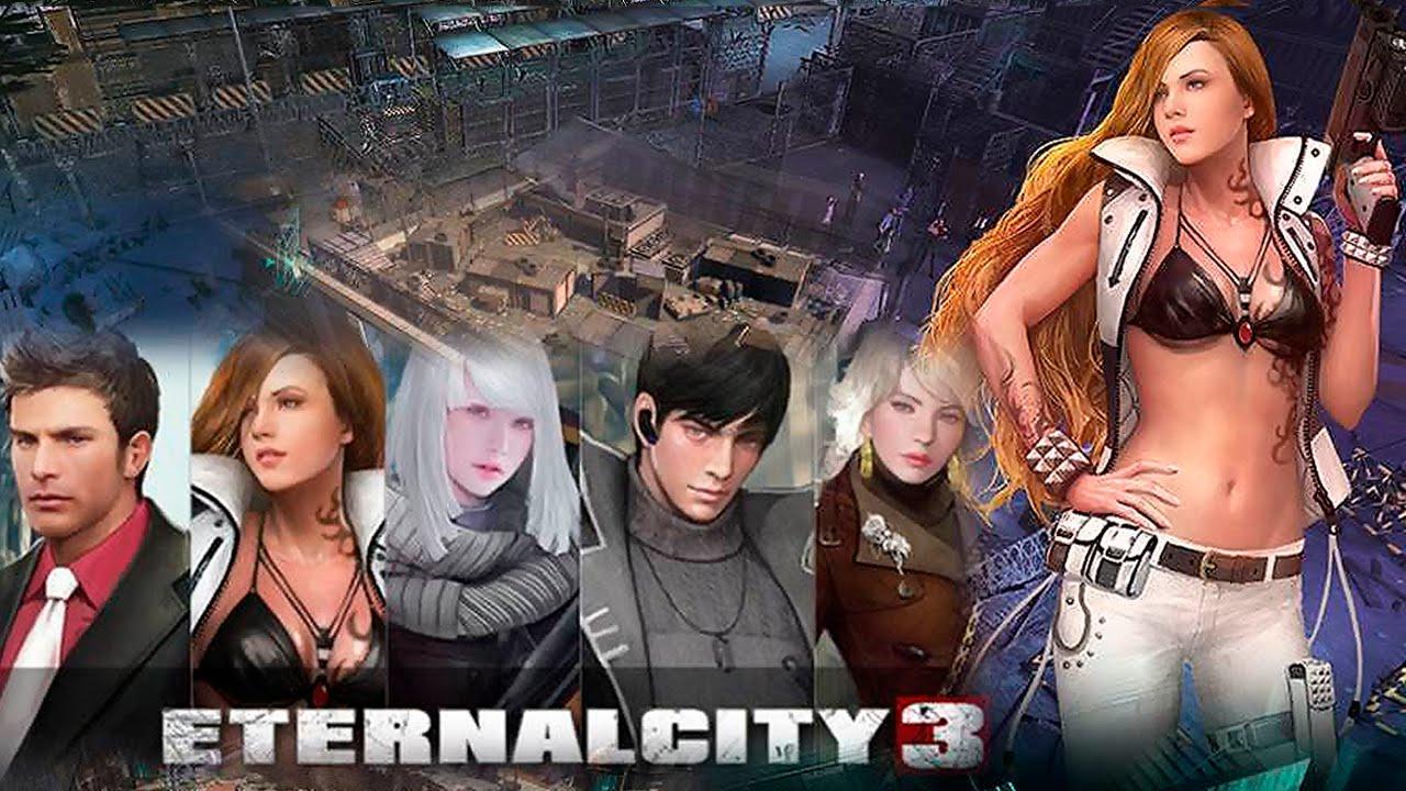 基本無料の新作ゾンビアクションオンラインゲーム 『エターナルシティ3』