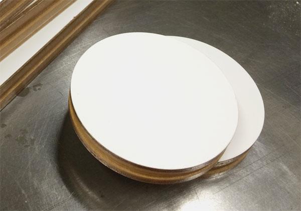 ファスナー型円型