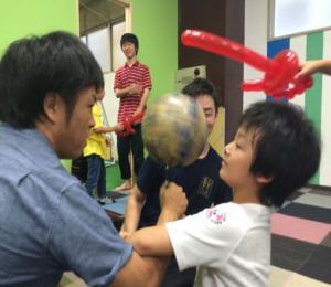 大道芸人 ボール回し 徠兎_convert_20150826101144