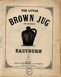 茶色の小瓶の絵
