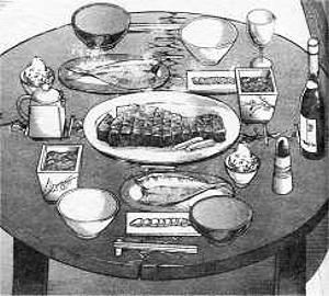 結構な食卓