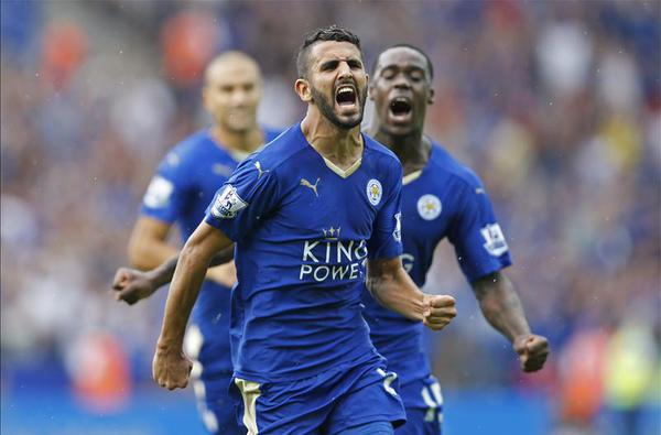 LCFC remain unbeaten after some late drama - that man Mahrez coming to the rescue