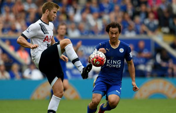 okazaki shinji against spurs 1-1