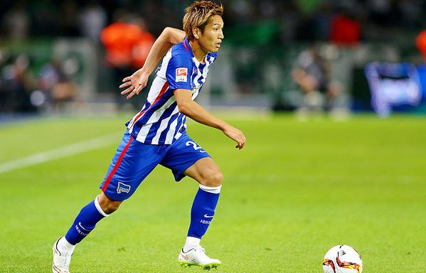 haraguchi genki Bremen dribbling 1-1