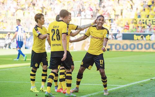 kagawa shinji Borussia Dortmund beat Hertha Berlin 3_1