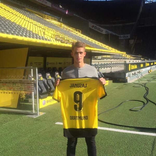 Dortmund have confirmed that they signed Adnan Januzaj
