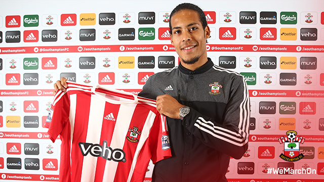 Southampton sign Virgil van Dijk from Celtic