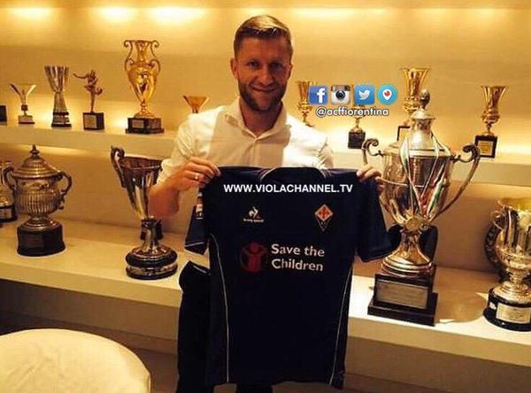 confirmation of Jakub Błaszczykowskis move to Fiorentina