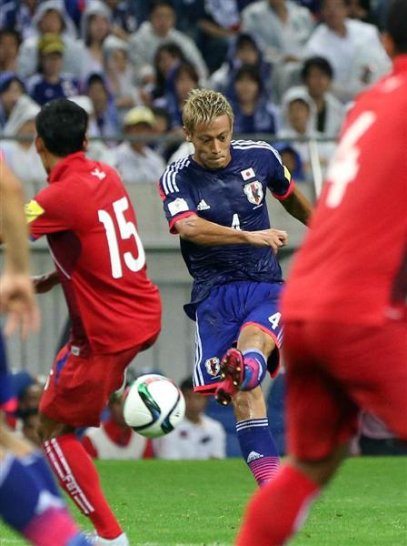 Japan as they beat Cambodia 3-0 hoda goal