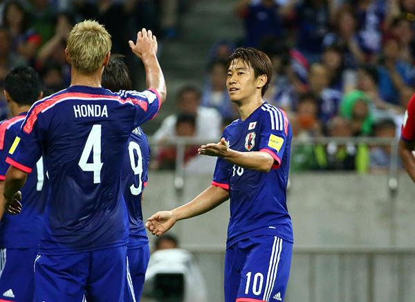 Japan as they beat Cambodia 3-0 kgawa goal