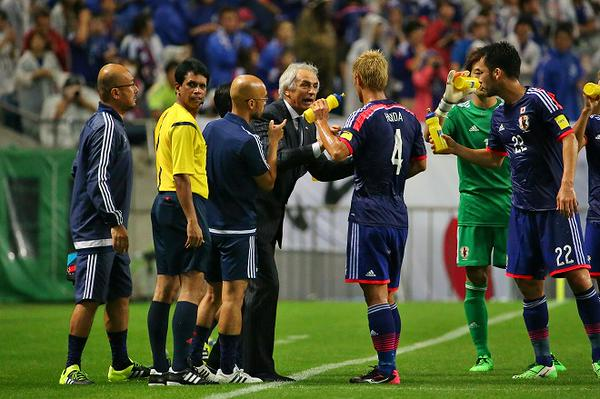 Halilhodzic Japan beat Cambodia 3-0