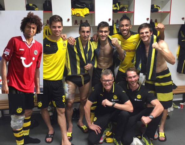 Best players for Dortmund today 4_2 hannover