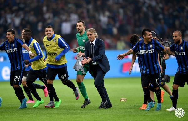 InterMilan 1-0 Nerazzurri triumph in the derby!