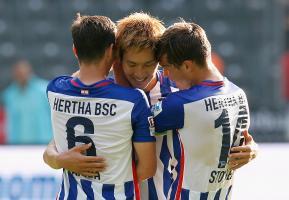haraguchi genki scored against Stuttgart
