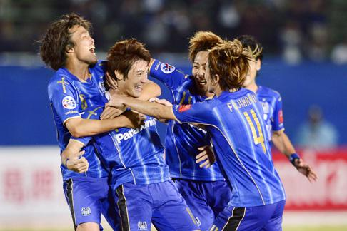 Gamba reach Asian CL semis with late 3-2 win over Jeonbuk