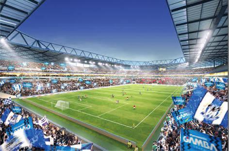 gamba osaka new stadium