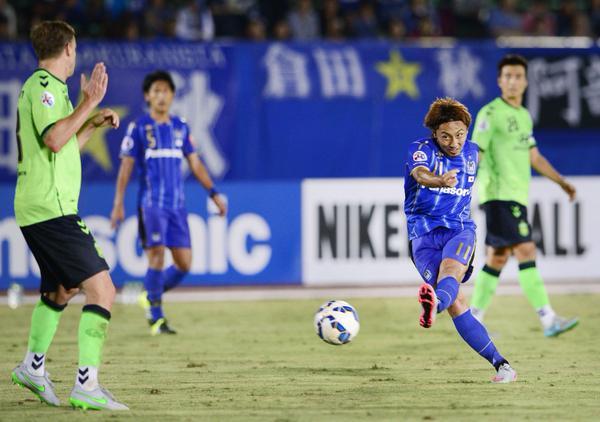 kurata scored aginst Jeonbuk 2_1