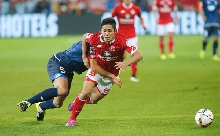 muto Mainz 05 vs Hoffenheim