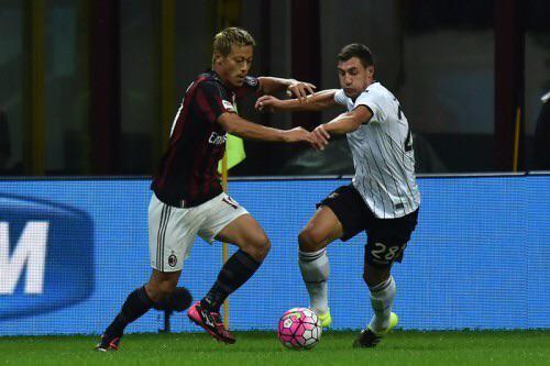 honda keisuke Milan vs Palermo 3_2