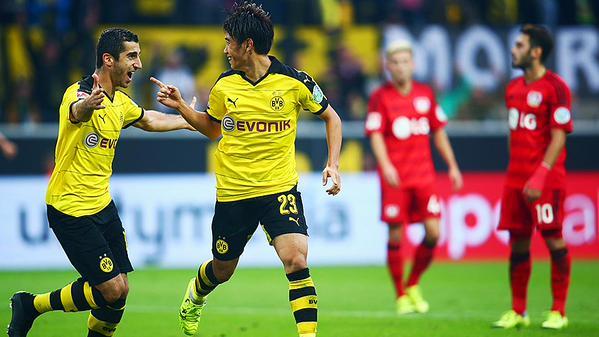 Shinji Kagawa propels Borussia Dortmund past Bayer Leverkusen