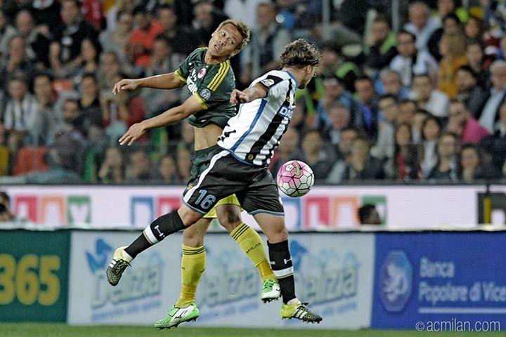 UdineseMilan 2-3 honda keisuke