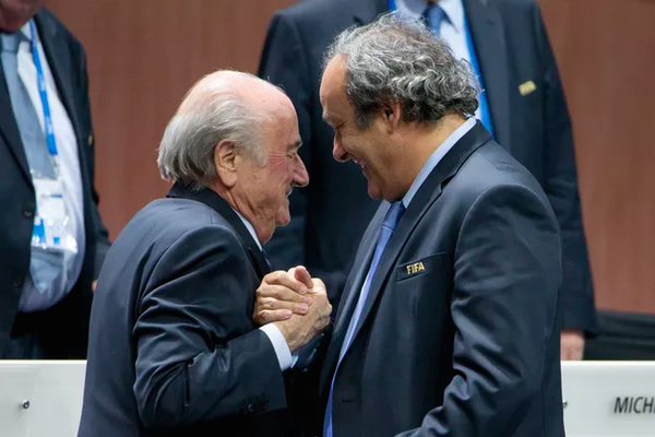 Blatter is suspected of a disloyal payment of 2 million to Michel Platini