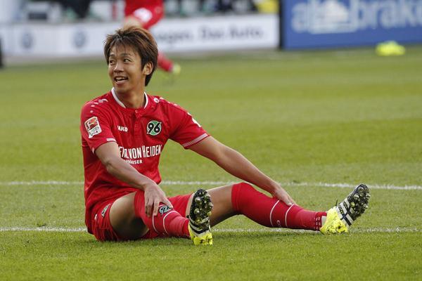 Wolfsburg 1-1 Hannover Kiyotake