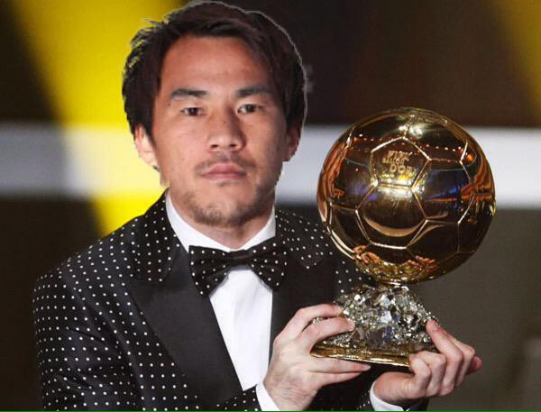 Okazaki on the Ballon Dor shortlist