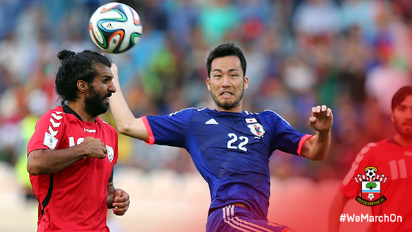 MayaYoshida3 helps Japan beat Syria in a 2018 #WorldCup