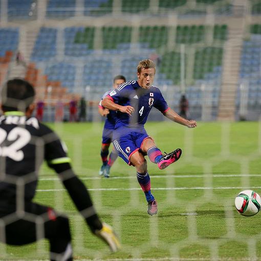 Japan Syria 3-0 honda goal