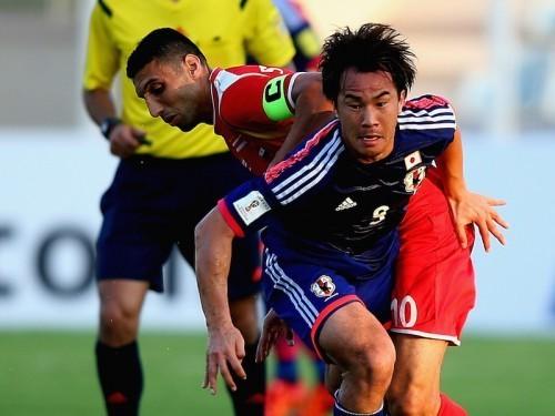 Japan Syria 3-0 okazaki goal