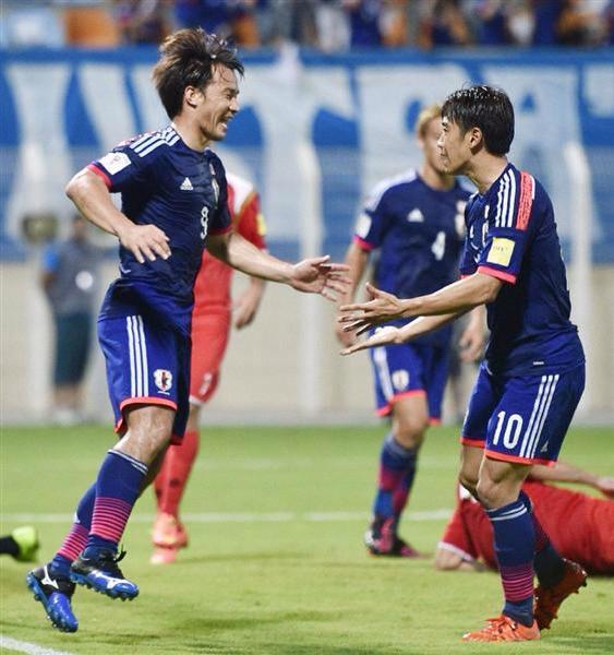Japan Syria 3-0 kagawa