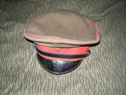 将校軍帽10